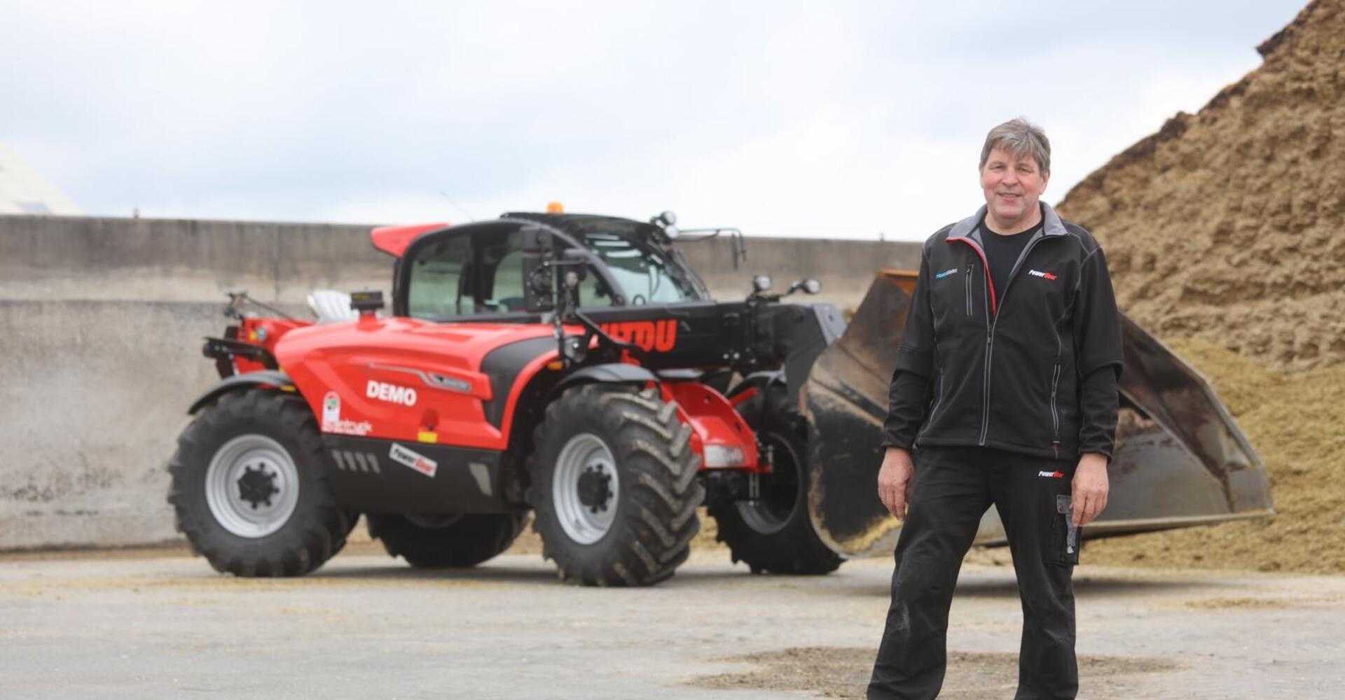 Komfort som i en moderne traktor