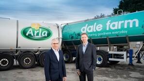 Arla skriver kontrakt med nordirsk valleproducent