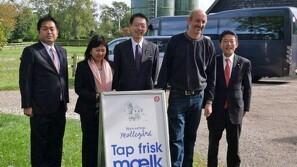 Stor japansk interesse for dansk mælkeproduktion