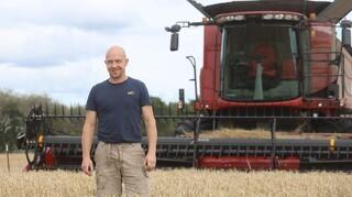 Mangler en tredjedele af høsten med ny maskine