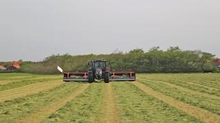 Pick-up riven sikrer kvalitets grovfoder