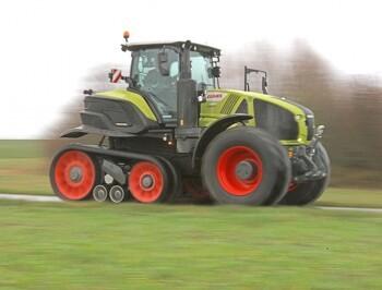 Claas udvider 900-serien med half-track traktor