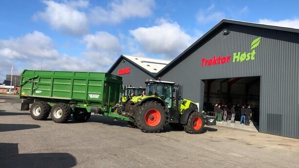 Danish Agros maskinforretninger investerer i fælles bremsestand