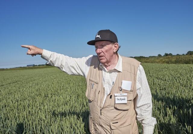 Tony Reynolds - en foregangsmand i Conservation Agriculture