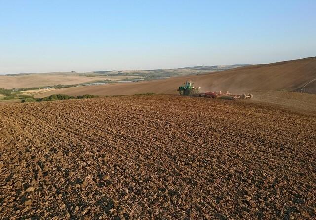 Drilsk høst i Ukraine