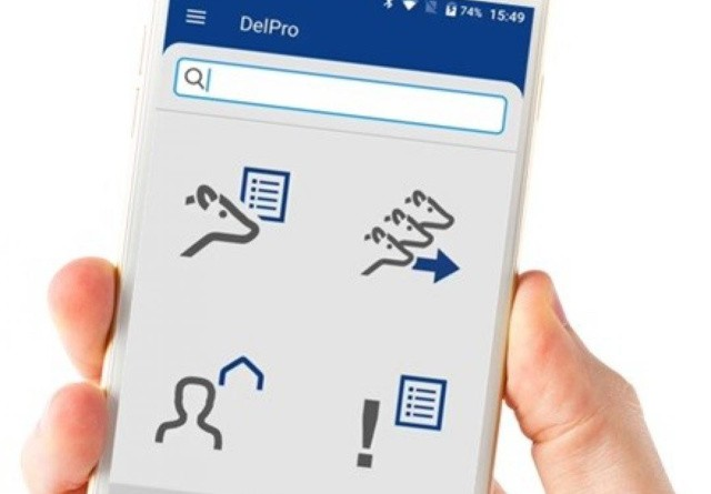 En stjerne til solid Delaval-app