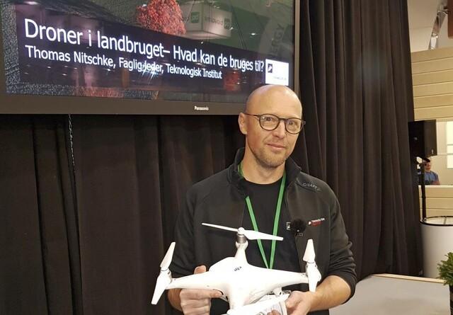 Hvad kan droner bruges til?