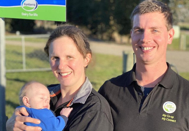 Ungt par forfølger drømmen i New Zealand