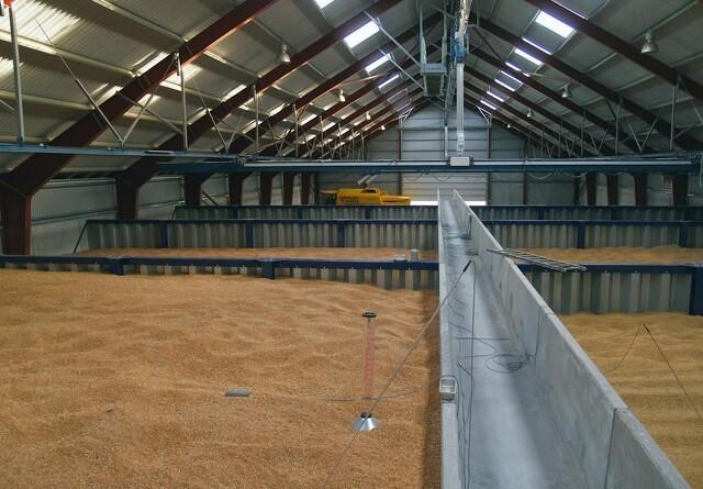 Håndtering, tørring og lagring af korn