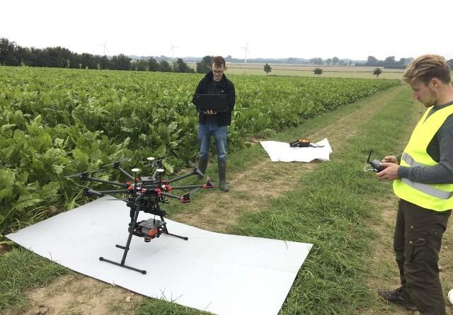 Droner skaber værdi i forsøgsarbejdet