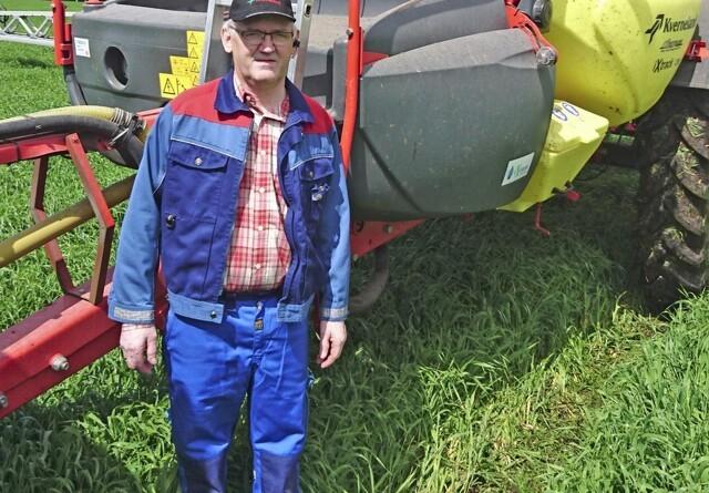 """Landmand: Vores gamle sprøjte har kørt """"test"""" på 45.000 hektar"""