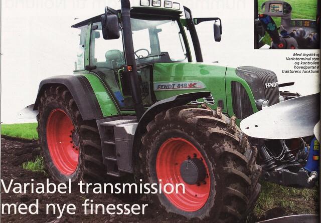 Variabel transmission med nye finesser