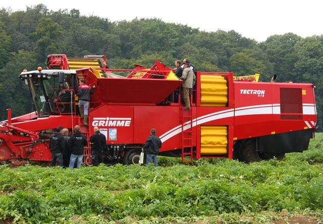 Stor interesse for kartoffeloptagere på bælter