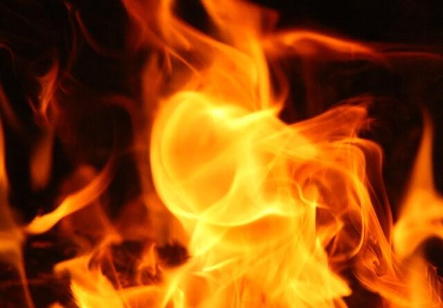 Vinkelsliber skyld i brand