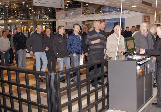 Markant flere besøgte Agromek 2012