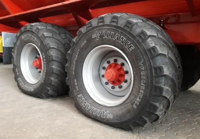 Alliance er klar med VF-dæk til gyllevognen