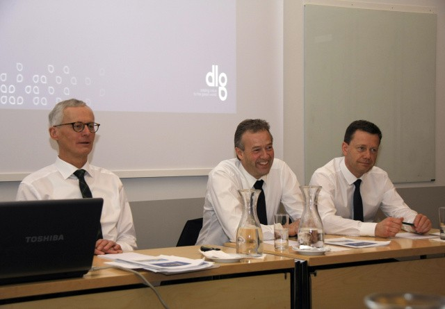 DLG-koncernen runder en halv milliard i overskud