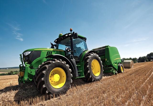 John Deere buldrer frem i traktorsalget