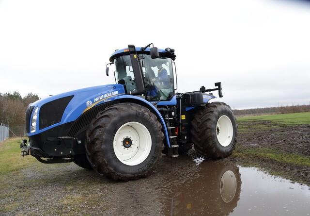 New Holland klart stærkest i 2012