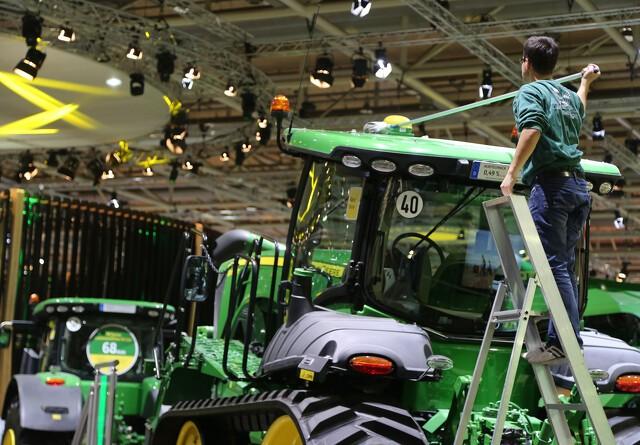 Agritechnica næsten klar til åbning
