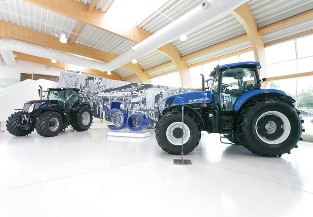 Blå traktorer i 50 år