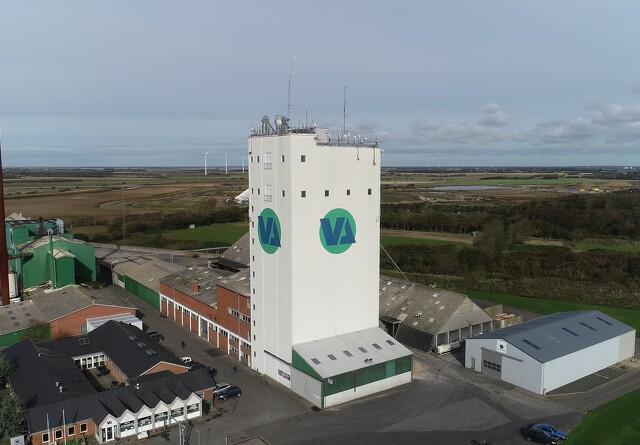 Vestjyllands Andel udlejer administrationsbygning