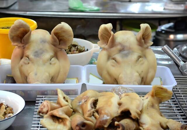 I Kina spiser de griseører og so-yvere