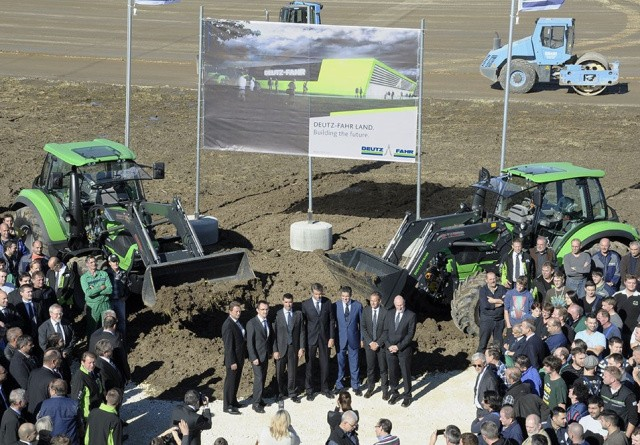 Så er byggeriet af Deutz-Fahr Land i gang