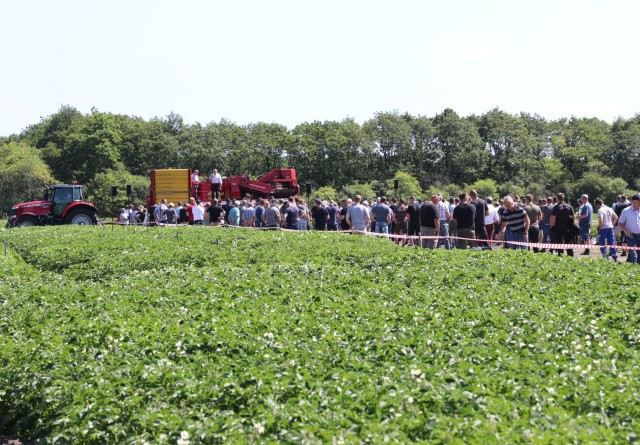 Kartoffelmøde med krav om politisk handling