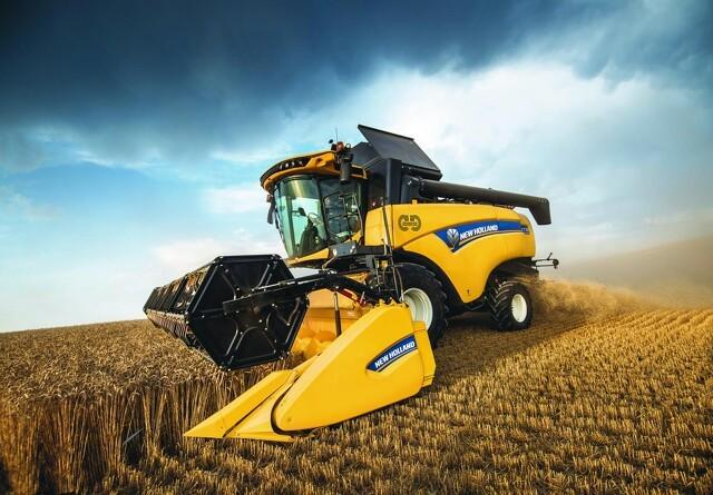 New Holland er klar med hybrid-mejetærsker