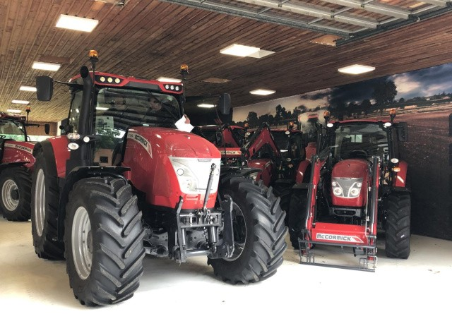 Få en lejeaftale på en McCormick traktor