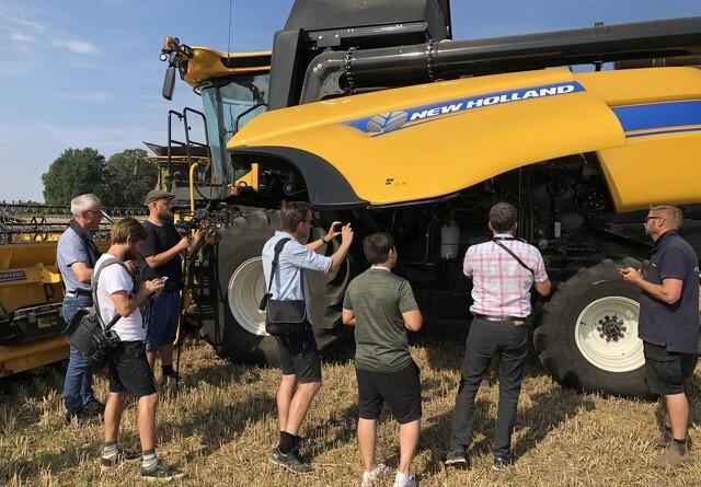 Høje forventninger til ny gul mellemklasse-maskine