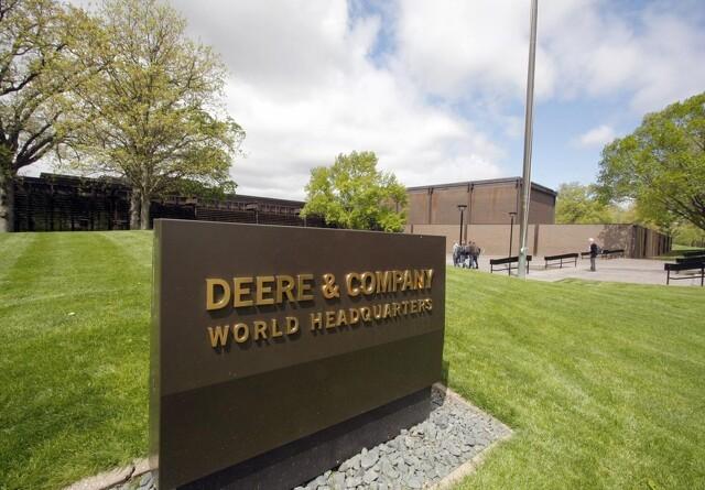 John Deere regnskab viser stor nedgang i omsætning
