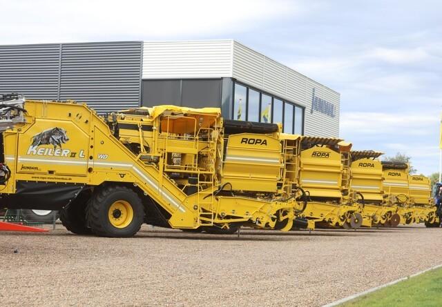 Fire Ropa-optagere til kartoffelmarkerne fra ny forhandler