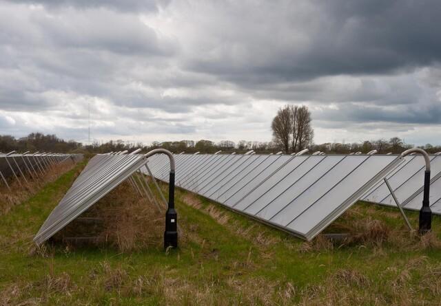 Udlejning af jord til solceller hitter