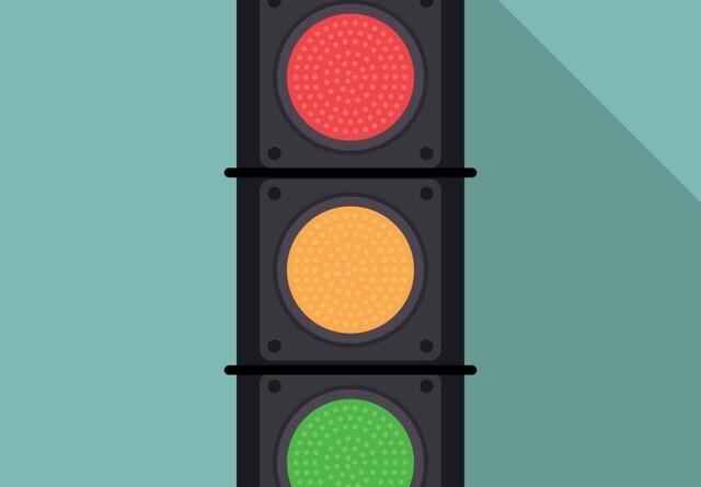 Status på trafiklyset: Yderligere ca. 37.000 gule marker er blevet grønne
