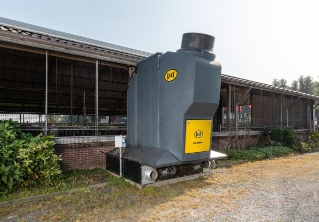 Lely lancerer staldsystem, der skal reducere ammoniakfordampningen
