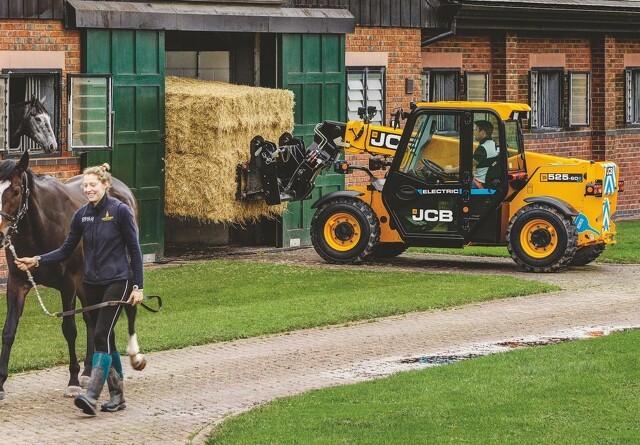 JCB udvider de elektriske maskiner til landbruget