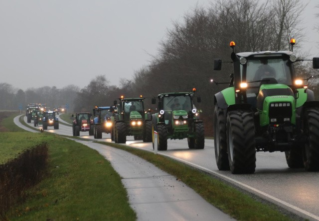 Ny traktordemonstration på vej i Hjørring