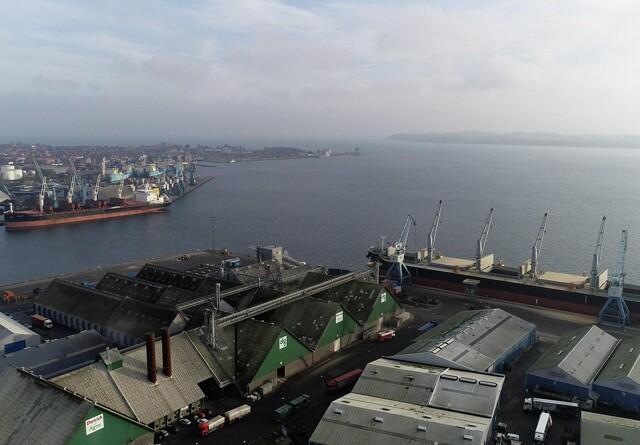Danish Agro udvider sin kapacitet på Fredericia Havn