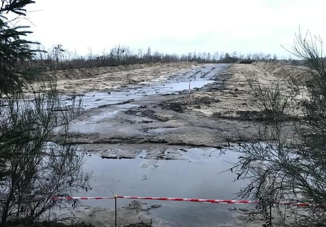 Vand på minkgravene skaber ny bekymring