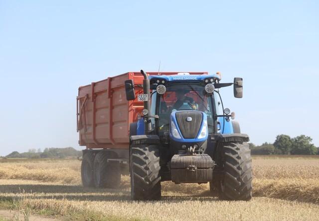 2020 blev et blåt traktor-år