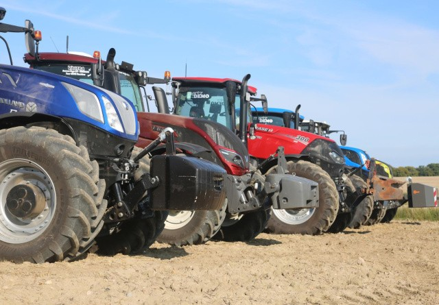 Den danske gennemsnit-traktor stiger eksplosivt