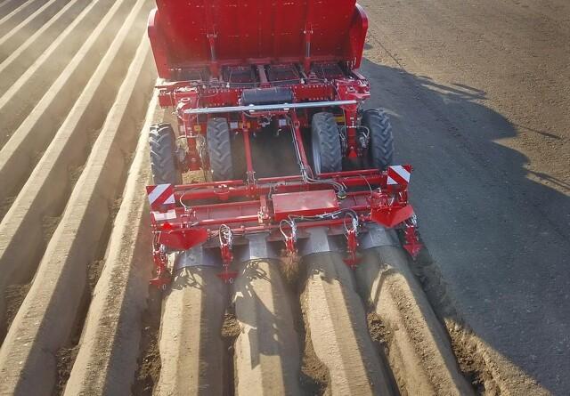 Innovative forbedringer på kartoffellæggere