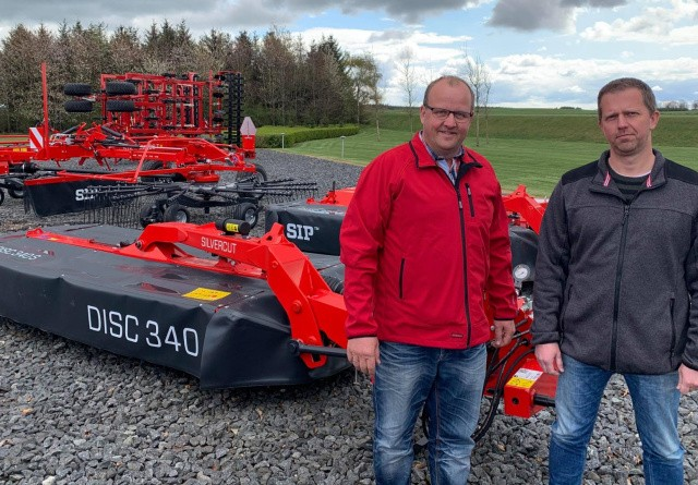 Slovenske græsmaskiner indtager Danmark