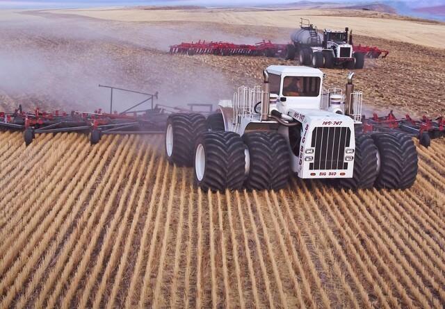 Verdens stærkeste traktor lever igen