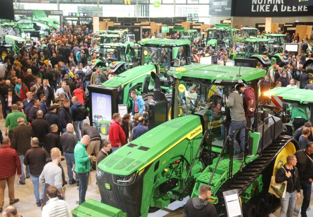 John Deere trækker sig fra Agritechnica