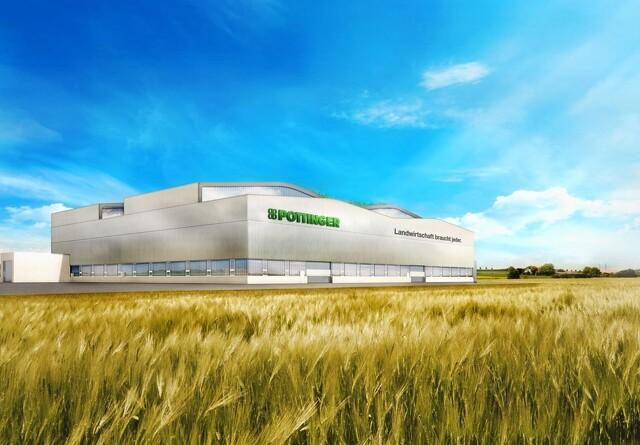Pöttinger bygger ny fabrik