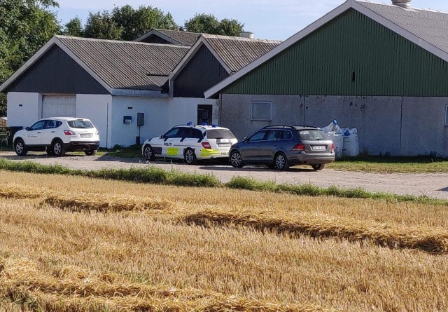 Svineproducent politianmeldt for trusler mod kontrollør