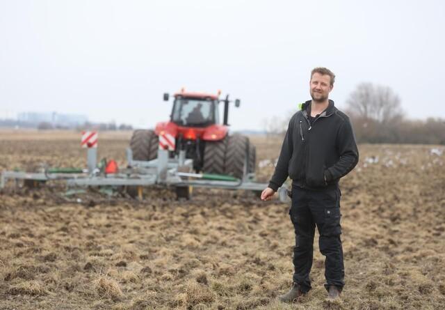 Kløvergræs og sortjord er omdrejningspunktet på økologisk bedrift